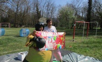 Combat de SUMO pour un anniversaire